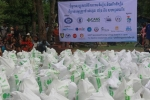 Phnom Penh Sugar Donation To Aid Flood Victims